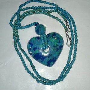 Bundle of 5 Vintage Necklace crafts